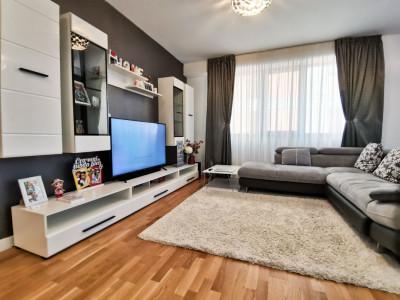 Apartament LUX 3 Camere 2 Terase 101mp Mobilat Baneasa Vav Stejarii